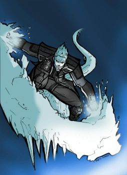ICEMAN:DAYS OF FUTURE PAST! by Sabrerine911