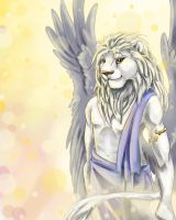The Lion Angel by SilverFlight