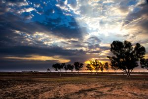 Dawn in Western Australia by Gobbliwink