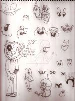 OFFICIAL SKETCHBOOK 2011-2015 - Page 29 by CelmationPrince