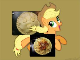 Applejack Pie by masonmouse