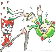 Cosmo at the Olympics by cmara