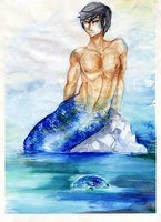 [Free! Eternal summer] - MerHaru by Ame-y