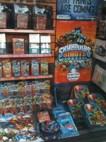 Skylanders Giants Display (Gamestation) by RadSpyro