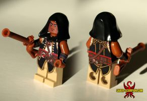 LEGO Adewale minifig (Assassin's Creed) by Saber-Scorpion