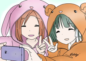Isshuukan Friends by MimiwArts