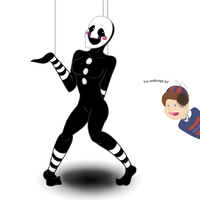 FNAF Puppet Woman Thing by Mittenpatty