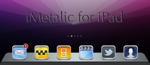 iMetalic Dock for iPad by Kayz-R