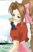 +Aerith+ by MurasakiButterfly