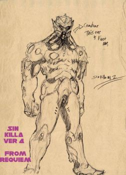 The Sin-Killer ver. 4 by grey-cain