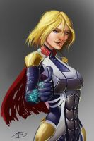 Mass Effect PowerGirl by Madmatt138
