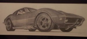 69 Vette by SketchesByChris