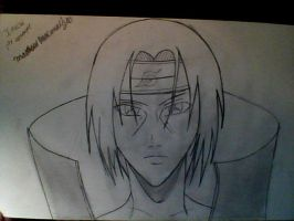 Itachi first attempt drawing by gamemaster8910