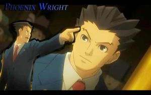 Phoenix Wright Wallpaper by Mochi-san