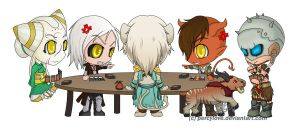 Commission - chibi - MTG by percylove