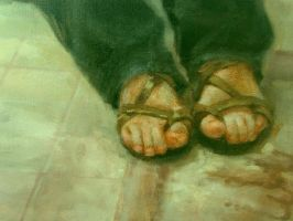 Portrait of Feet by AncientSources