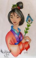 Mulan by glimpen