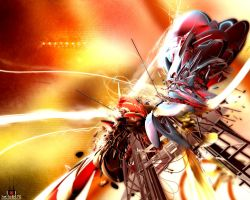 Invasion of abstract by paradikal