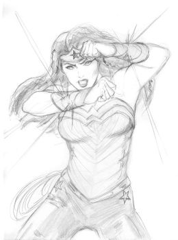 Sketch 57. Wonder Woman by Dreamerwstcoast