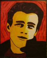 James Dean by atomikheart