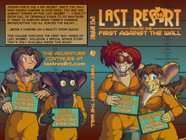 Last Res0rt - Vol. 1 Cover Art by lastres0rt