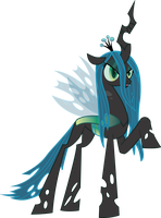Queen Chrysalis vector 2.0 by MarinaPg