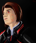 Commander Shepard by Articuno-Phantom
