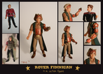 Rover Action Figure: 4 in. by chill13