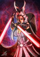 What if Ahsoka became a Sith Lord!? by moneyk07
