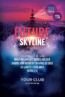 Future Skyline Flyer by styleWish