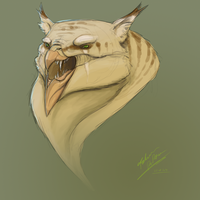 Gryphon head concept by FabrizioDeRossi