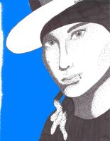 Stippling -Tom Kaulitz- by IisLARRY