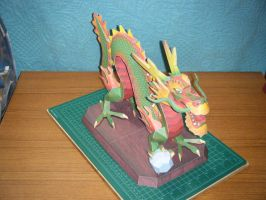 Chinese Luck Dragon Statue 6 by devastator006