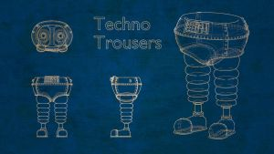 Wrong Trousers Blueprint Style by TheBigDaveC