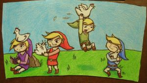 The Four Cuccos by DarthJader11