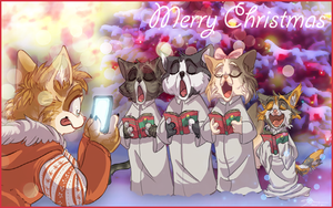 Christmas Choir by RainbowSnow