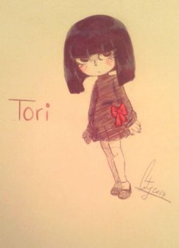 A tiny Tori by XCrazyBlackCatX