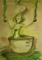 Challenge 1 - Macha Tea by virecca