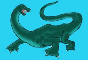 Cryptid - Nessie - Design 02 by Cybopath