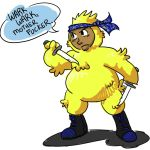 Chocobo Suit by ladylaguna