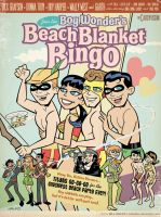 Teen Titans' Beach Blanket Bingo by BillWalko