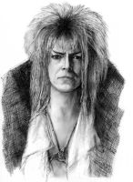 Digital Labyrinth Goblin King by LevonHackensaw