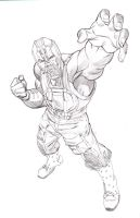 Jim Lee style Bane by BroHawk