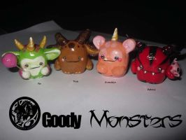 Goody Monsters by latent-ookami