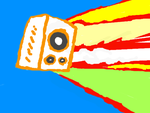 Colors painting - Speaker by madwurmz