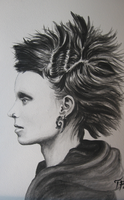 Lisbeth Salander by serukian