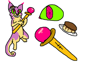 Flan Cat Adoptable CLOSED by Meepalso