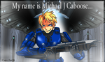 My name is Michael J Caboose by KareIchi
