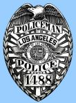 LAPD Badge by guardmn