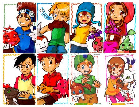 AACards::Digimon.Adventure by kole